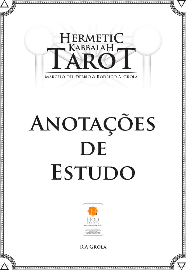 Bloco para notas - Tarot